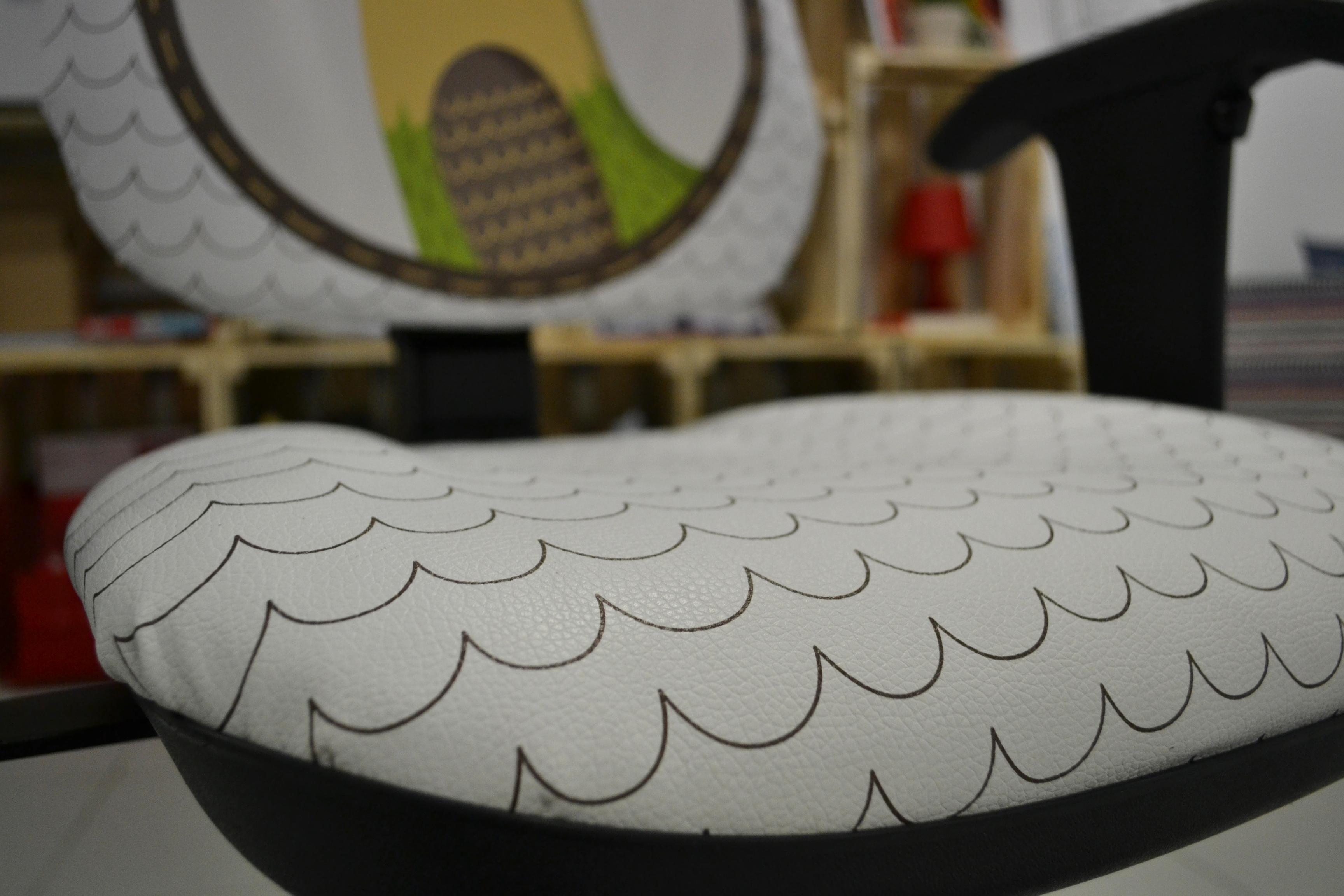C mo tapizar una silla con polipiel estampable - Tapizar una silla ...